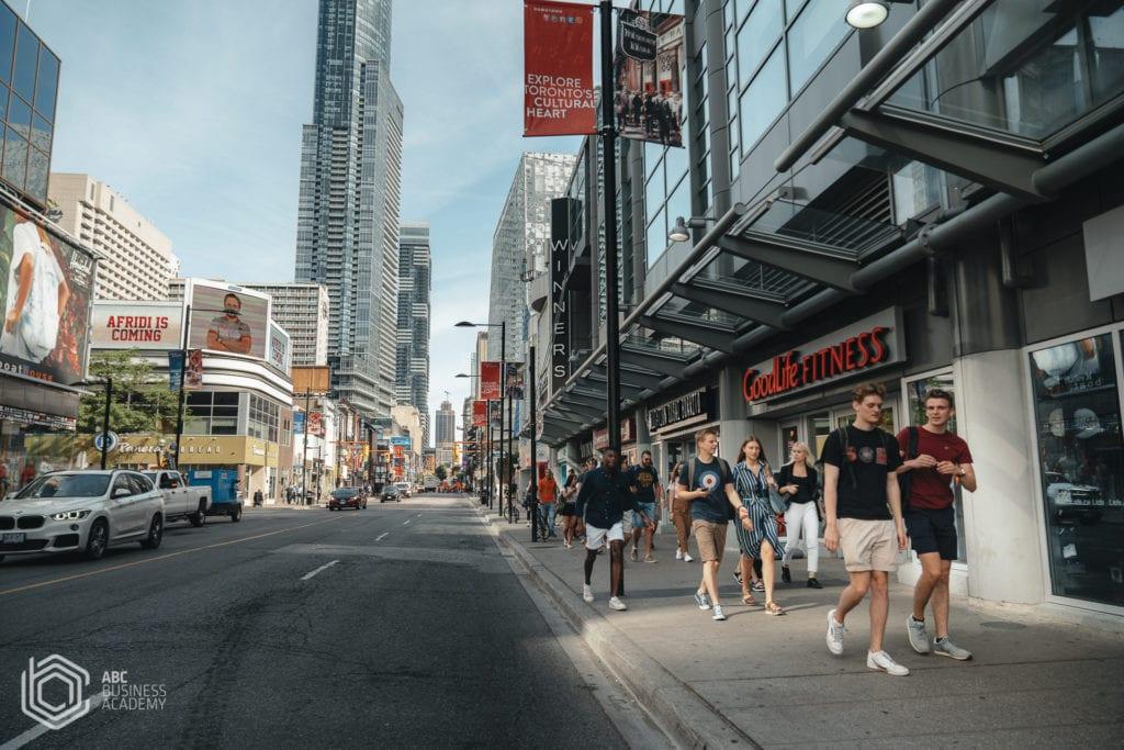 Yonge street the longest in the world